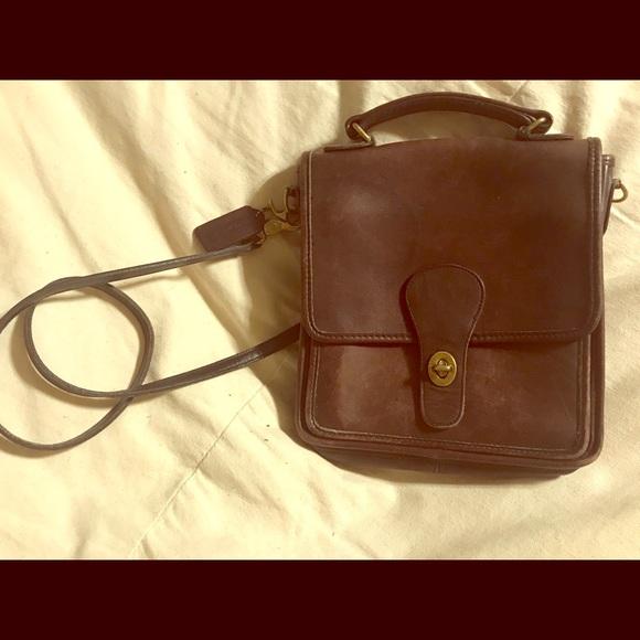 Coach Handbags - Coach vintage genuine leather